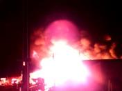 Modesto South 9th street fire.