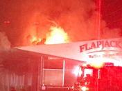 Flapjacks in flames!