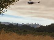 Soberanes fire From Santa Lucia Preserve