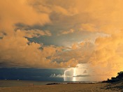 Summer Storm on Boca Beach