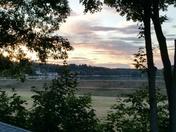 Sunset over Lake Gardner, Amesbury