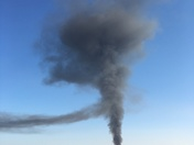 Pallet fire