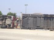 101 south near Gilroy car accident