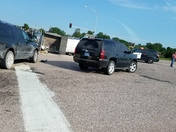 Accident 169 and 199th Spring Hill, KS about 6pm 7/27/26.