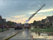 SW Oklahoma City House Fire After Storm