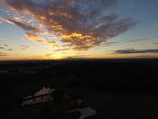 Sunrise Over Mocksville From 200ft