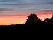 Sunset in Milton