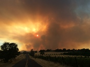 Winters fire Tuesday evening 8/2/16