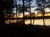 Sunset dinner at Tripp Lake!!!!