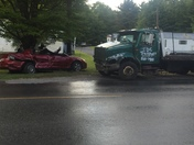Accident on Turnpike