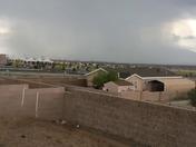 Rain down town
