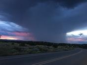 Looking toward Los Alamos