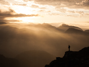 Sunrise on Panorama Ridge