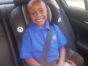 On the way to 2nd grade!