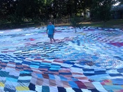 quilt that shape like state of missouri