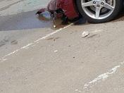 Car crash south Hanover st