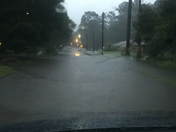 Flooding in Hammond, LA