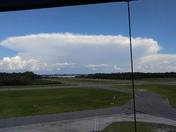 Cloud over orlando