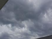 Crazy looking sky