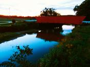Scenic Hogback Covered Bridge