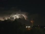 Lightning west of Maitland