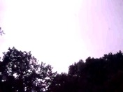 Huge thunder storm going though Worcester