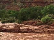 Highway 4 flooded