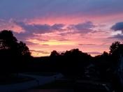 Milton VT Sunset