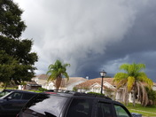 Storm clouds tonight in kissimmee....