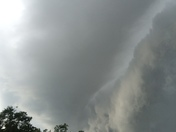 Storm front over Sharonville