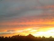 Sunset @Heavener okla