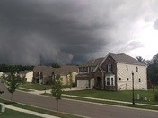 Storm over Union Township