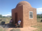 Dome at Los Silvestres in Abiquiú Gets A Makeover