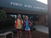Back to School Forest Acres Elementary