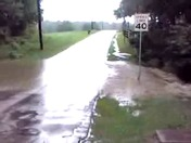 Flooding on Banning Road, Lower Tyrone Township, Dawson PA.