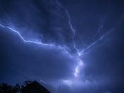Assateague island lightning from end of July