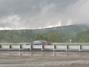 Yesterday's storm in Littleton on 495