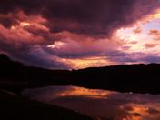 Cedar Lake before the rains.