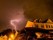 Storms from Glen Burnie 8/17/16