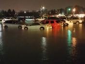 Car at Iowa State Fair parking