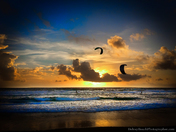 Sunrise and KiteBoarders - Delray Beach