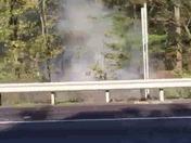Fires along 128 N in Dedham