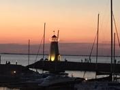 Sunset at Lake Hefner
