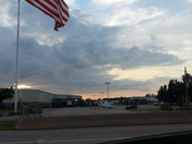 Sunset of off Broadway Extension looking West & 122, BEAUTIFUL !