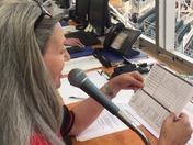 Francine Walker announcer at Isotopes