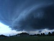 Storm forming near  Raintree Lake
