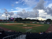 Weather Delay at Zephyr Field
