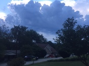 Storm clouds moving in