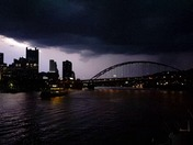 Lightning over Pittsburgh