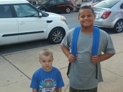 Dylan back to school